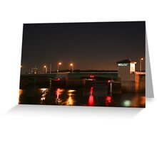 Prescott Lift Bridge Greeting Card