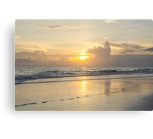 Anna Maria Sunset 3 Canvas Print