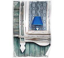 Blue Lamp Poster