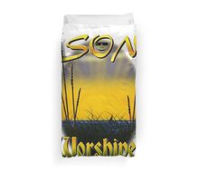 Son Worshiper Duvet Cover