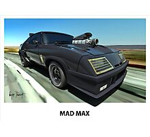 MAD MAX INTERCEPTOR Photographic Print