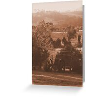 Down On The Farm - Mansfield, Victoria Greeting Card