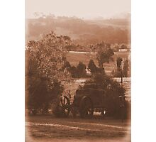 Down On The Farm - Mansfield, Victoria Photographic Print