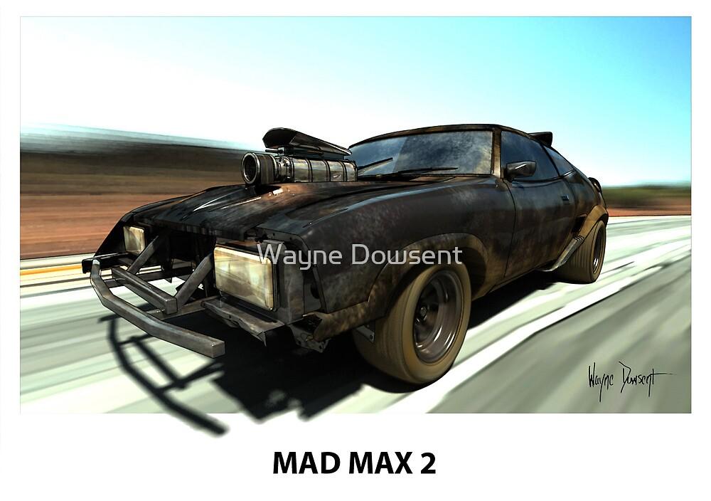 MAD MAX 2 INTERCEPTOR by Wayne Dowsent