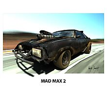 MAD MAX 2 INTERCEPTOR Photographic Print