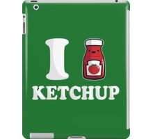 I Heart Ketchup iPad Case/Skin