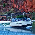 Ord River, Tour boat, Western Australia. by johnrf