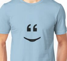 Smile if you love punctuation! Unisex T-Shirt