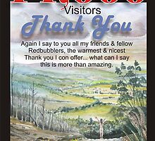14,000 visitors and friends by Ken Tregoning