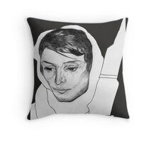 Leila Khaled  Throw Pillow
