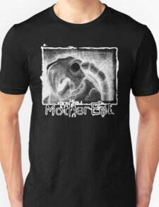 Mother Eel White Turtle: ME Logo At Bottom Unisex T-Shirt