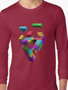 Penrose Tetris Long Sleeve T-Shirt