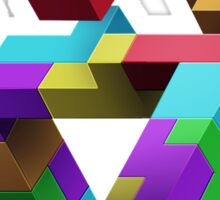 Penrose Tetris Sticker