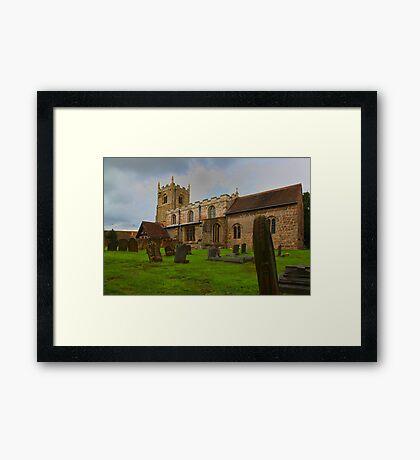 St Edmunds Church Walesby, notts Framed Print