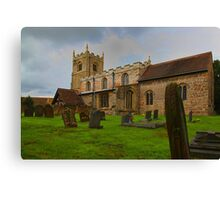 St Edmunds Church Walesby, notts Canvas Print