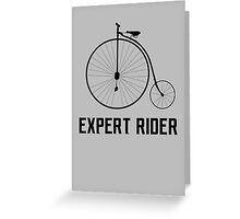 Expert Rider T-shirt Greeting Card