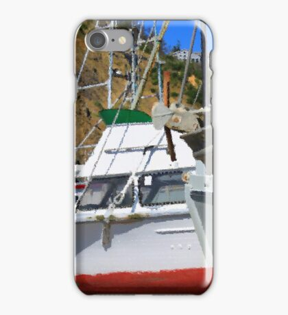 Boats In Drydock iPhone Case/Skin