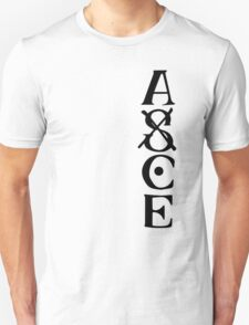 Ace Tatto - Black on White T-Shirt