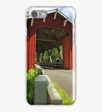 Brookwood Covered Bridge iPhone Case/Skin