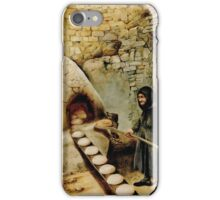 Baking bread - colour drawing iPhone Case/Skin