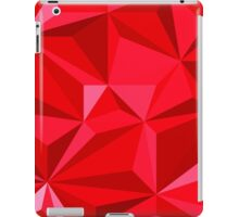 Polygonal mosaic illustration, low poly style iPad Case/Skin