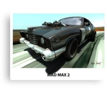 MAD MAX 2 LANDAU COUPE Canvas Print
