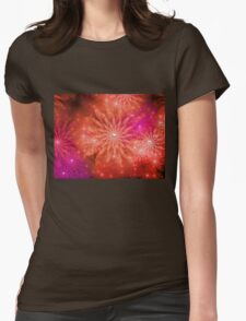 Breeze of Summer Flowers Womens Fitted T-Shirt
