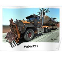 MAD MAX 2 MACK TRUCK Poster