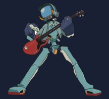 FLCL Music Band Baby Tee