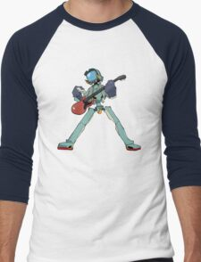 FLCL Music Band Men's Baseball ¾ T-Shirt