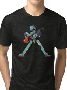 FLCL Music Band Tri-blend T-Shirt