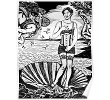Cabaret Birth Of Venus: Amanda Palmer Poster