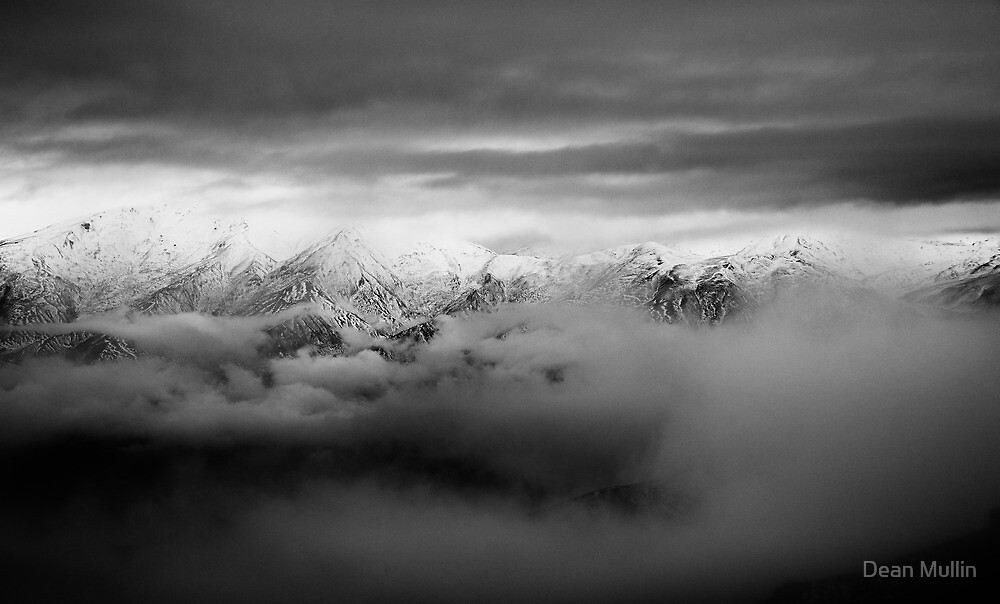 The Remarkables - Queenstown NZ by Dean Mullin