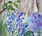 Impression Bluebells by Ann Mortimer
