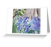 Impression Bluebells Greeting Card