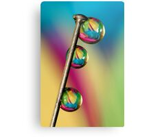 Pin Drop Metal Print