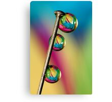 Pin Drop Canvas Print