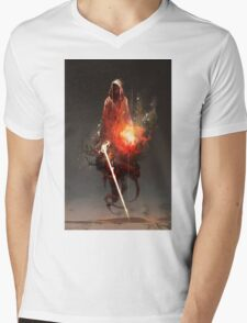 Acolyte of Embers Mens V-Neck T-Shirt