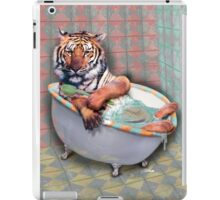 Tyger Bath iPad Case/Skin