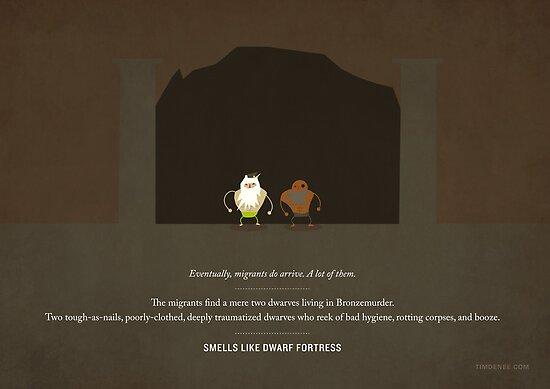 Smells Like Dwarf Fortress by Tim Denee