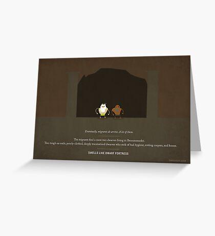 Smells Like Dwarf Fortress Greeting Card