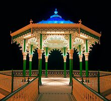 The Bandstand - Brighton - England by Bryan Freeman