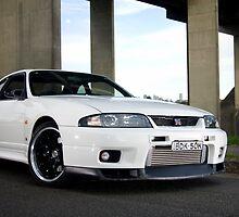 Nissan GTR-33 Godzilla by inmotionphotog