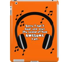 Sound of Awesome iPad Case/Skin
