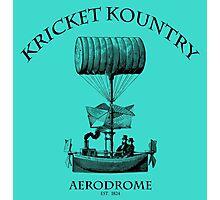 KRICKET KOUNTRY AERODROME, Est. 1824! Photographic Print