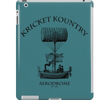 KRICKET KOUNTRY AERODROME, Est. 1824! iPad Case/Skin