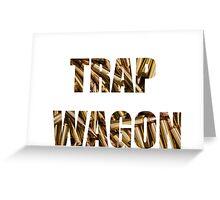 trap wagon Greeting Card
