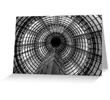 Coop's Shot Tower (Melbourne Central) Greeting Card