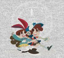 Pine Twins One Piece - Short Sleeve