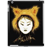 Not your Kitty - Goth Black and Gold iPad Case/Skin